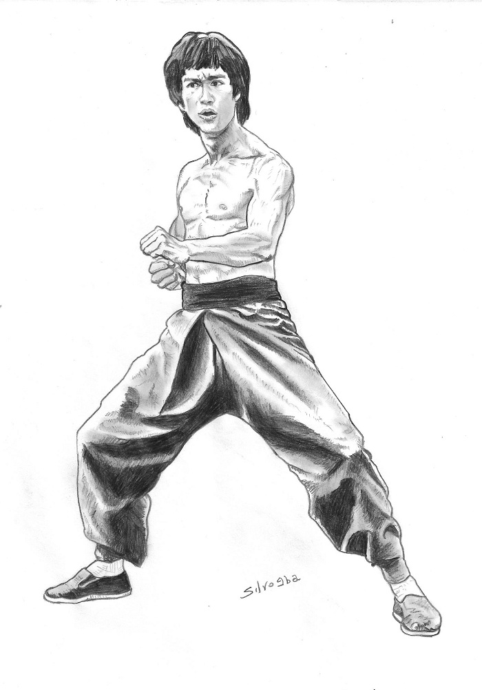 bruce lee coloring pages - photo#20